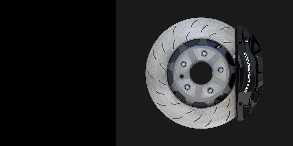 Desempeño del auto deportivo Corvette Stingray 2018: frenos