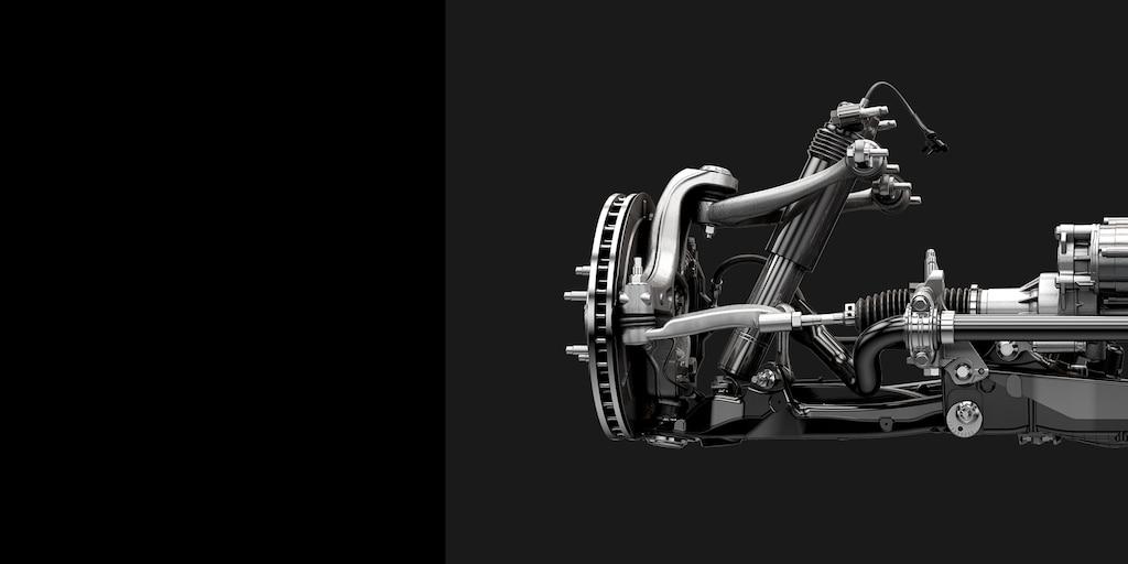 Desempeño del auto deportivo Corvette Stingray 2018: suspensión