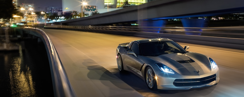 Auto deportivo Corvette Stingray 2018