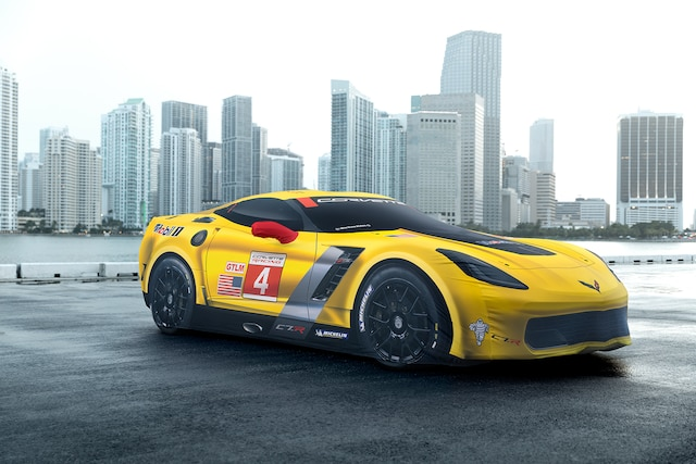Exclusivos del superauto Corvette Z06 2018