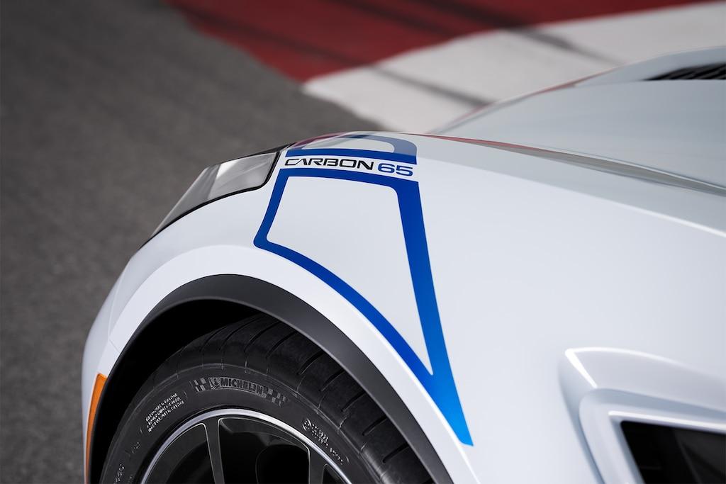 Diseño del superauto Corvette Z06 2018: guardafangos
