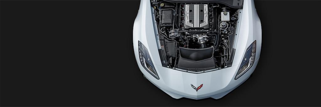 Desempeño del superauto Corvette Z06 2018: motor