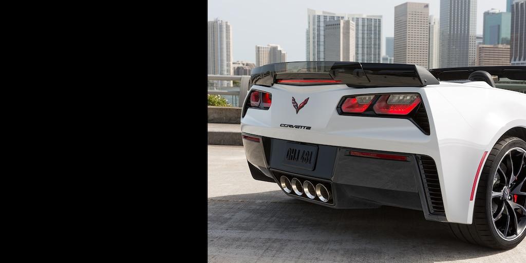 Desempeño del superauto Corvette Z06 2018: trasero