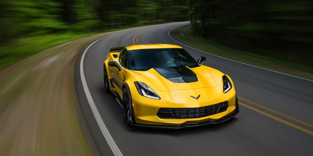 Seguridad del superauto Corvette Z06 2018: