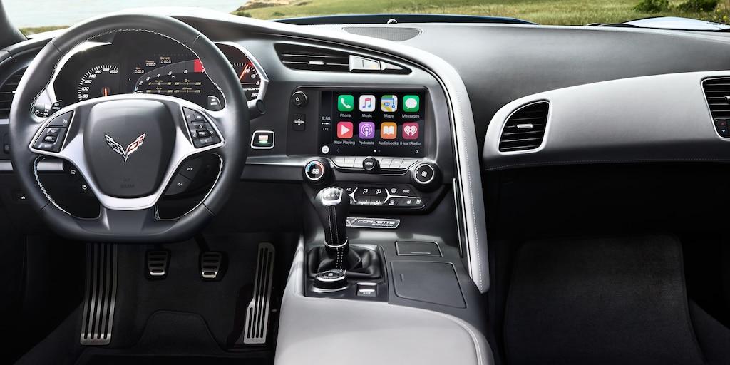 Tecnología del superauto Corvette Z06 2018: Tablero