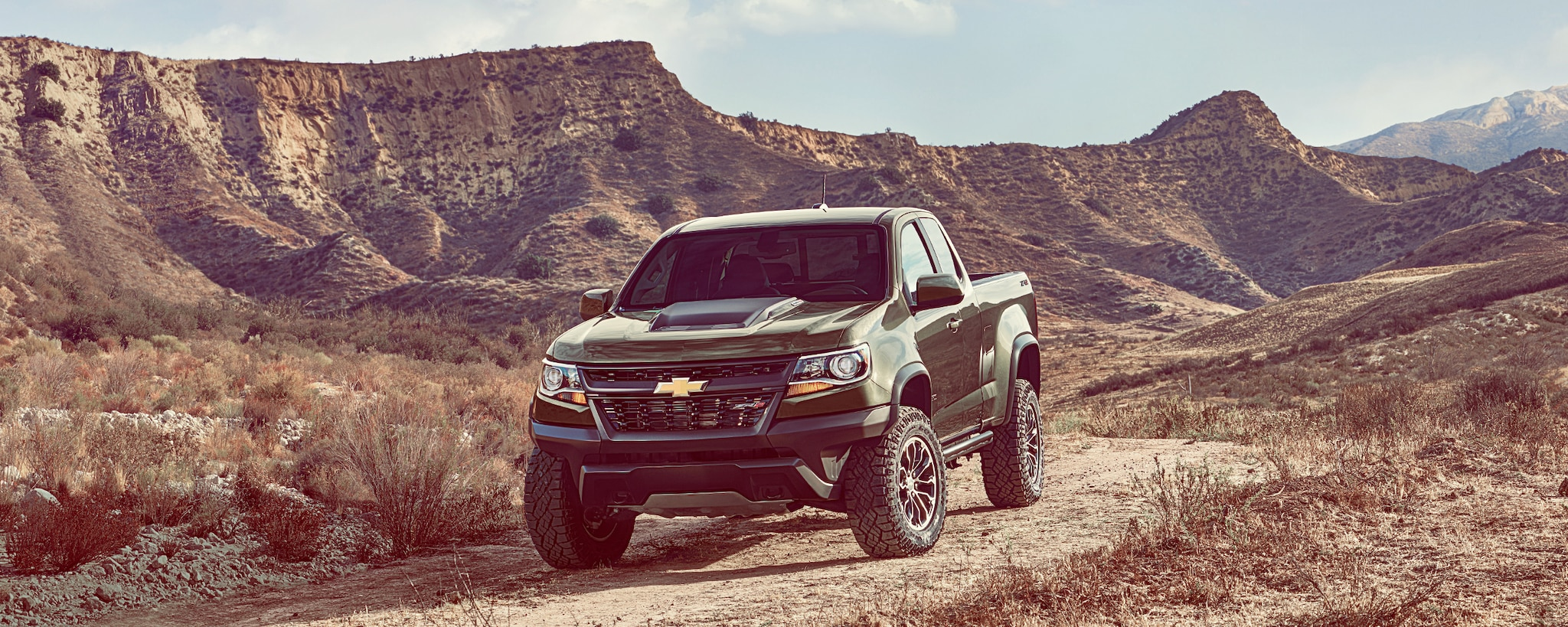 Camioneta todo terreno Chevrolet Colorado ZR2 2018