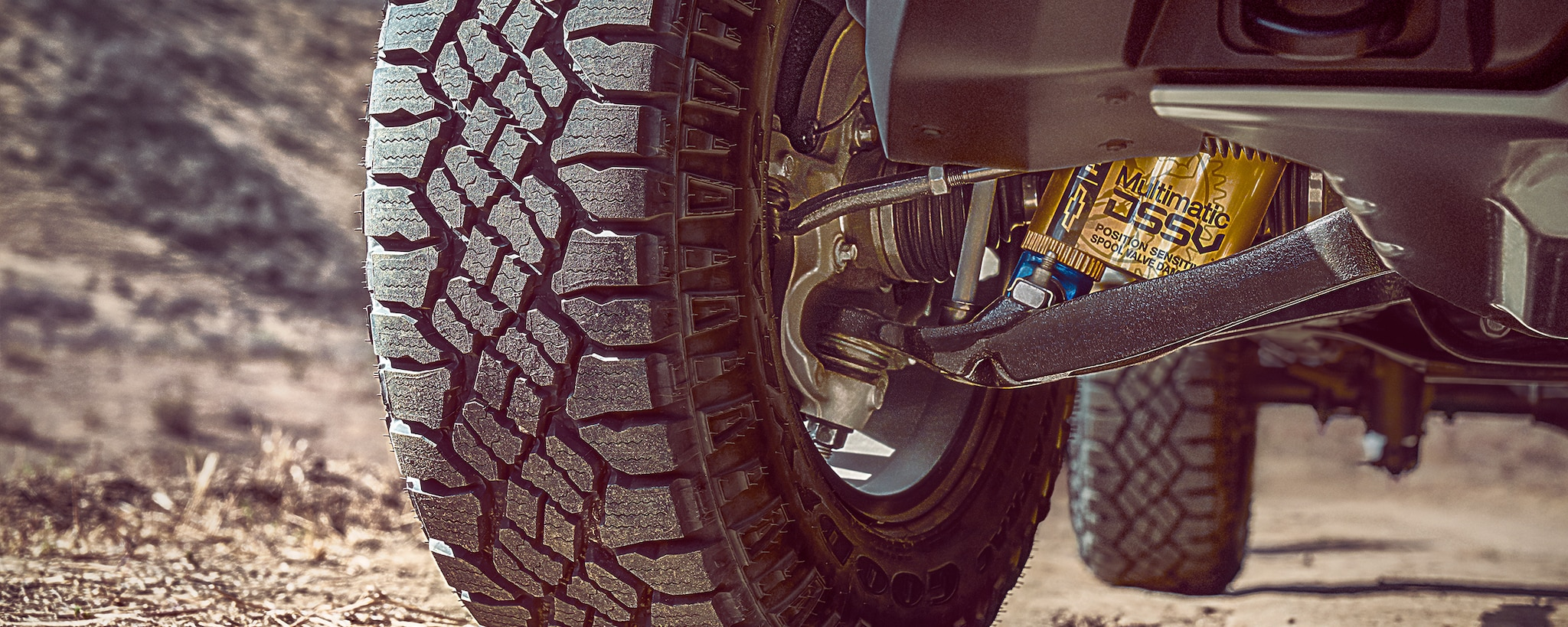 Desempeño de la camioneta todo terreno Colorado ZR2 2018: Los primeros amortiguadores multimatic del segmento