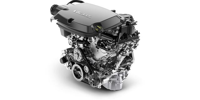 Performance para camioneta de tamaño mediana Colorado 2018: Motor V6 de 3.6 L