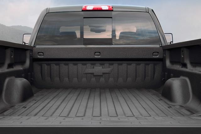 Diseño de la camioneta Silverado HD 2018 para trabajos pesados: cubierta de caja de carga