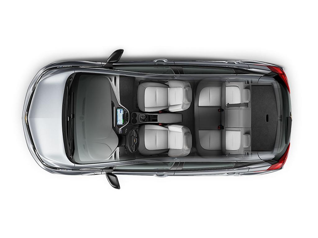 Diseño del auto eléctrico Bolt EV 2019: Interior