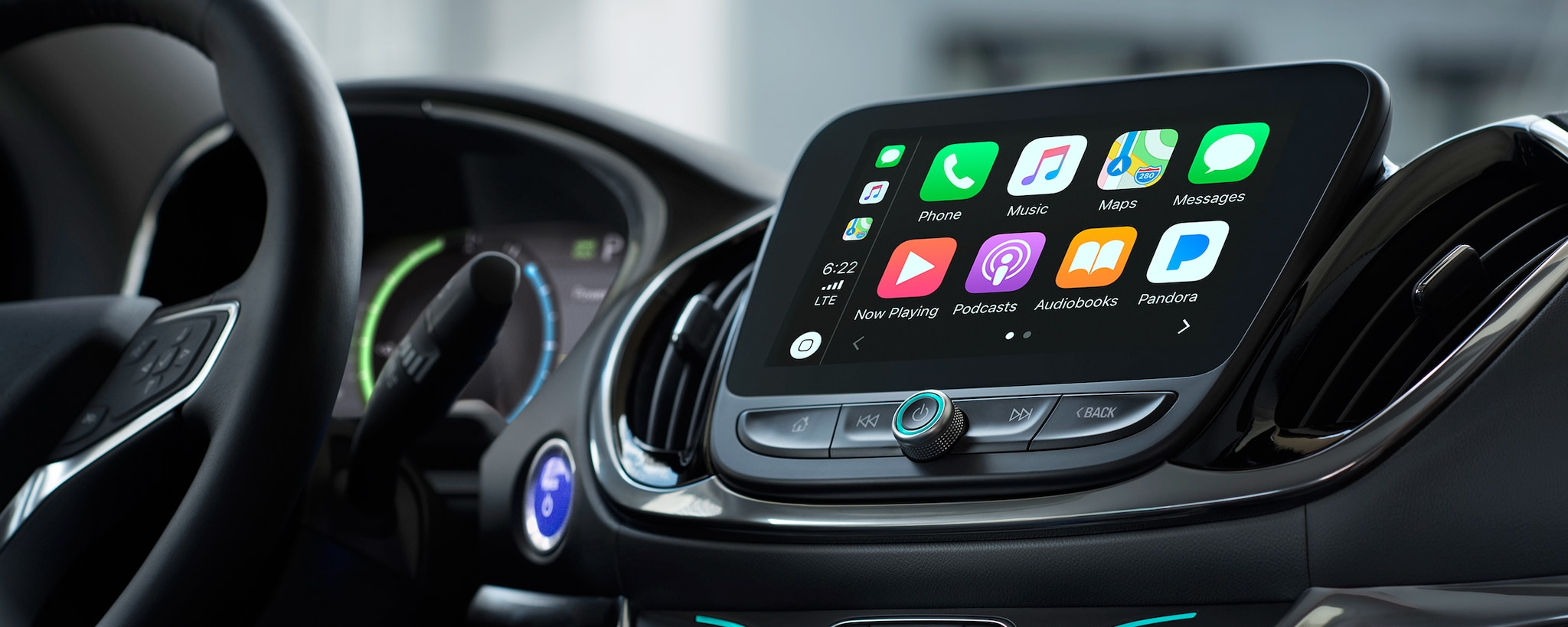 Tecnología del híbrido para enchufar Volt 2019: Apple CarPlay