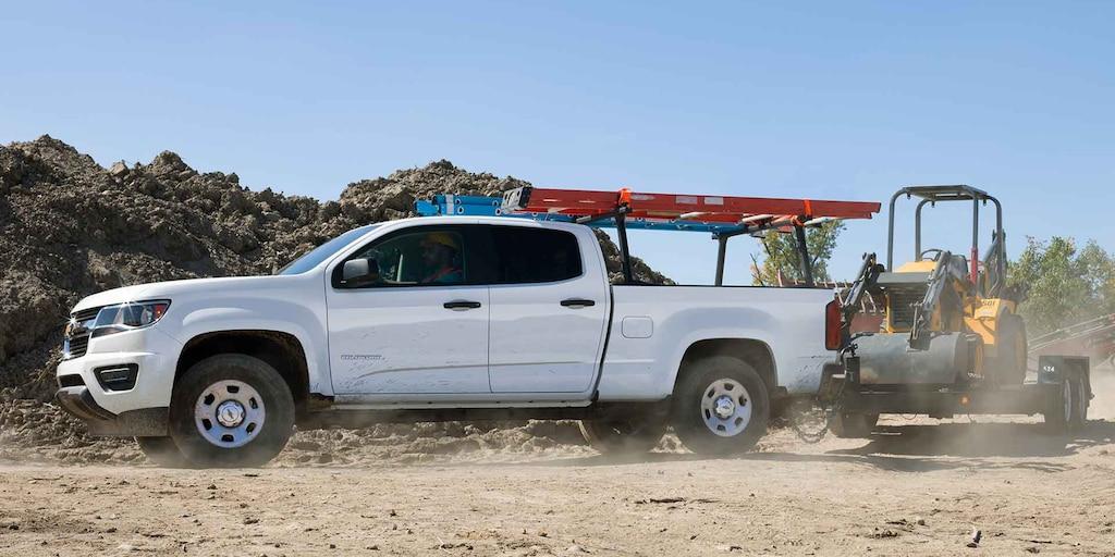 Foto del exterior de la camioneta comercial de trabajo Colorado 2019: remolque