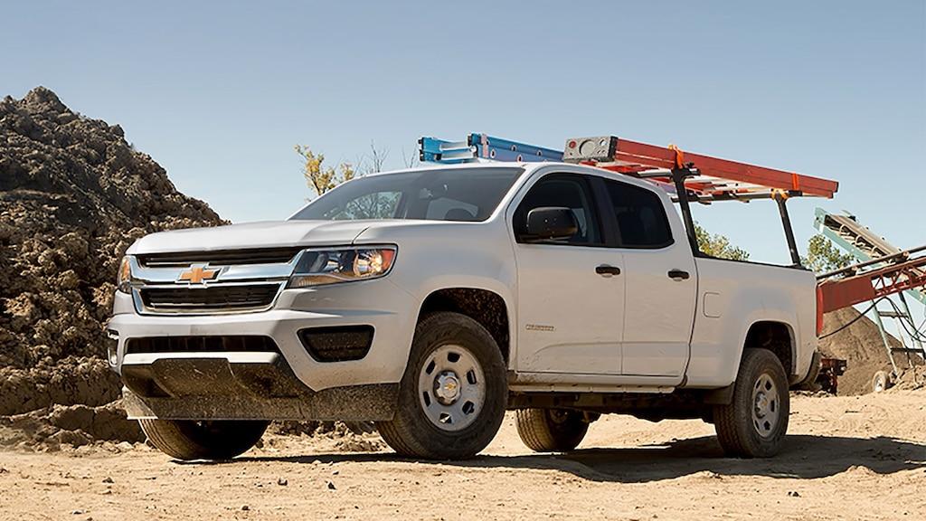 Especificaciones de la camioneta comercial de trabajo Colorado 2019: Parrilla portaequipajes de uso general
