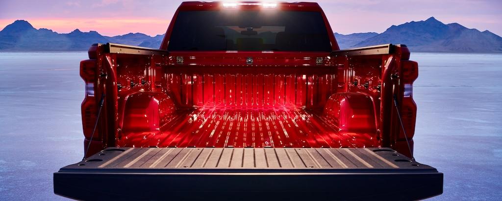 Caja de la camioneta comercial Silverado 2019