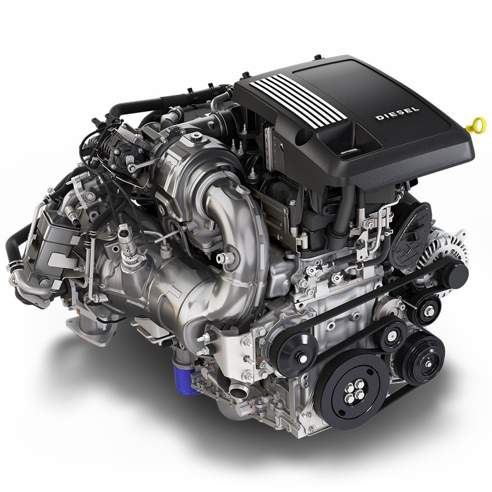 Motor Duramax Turbo-Diesel de 3.0 L