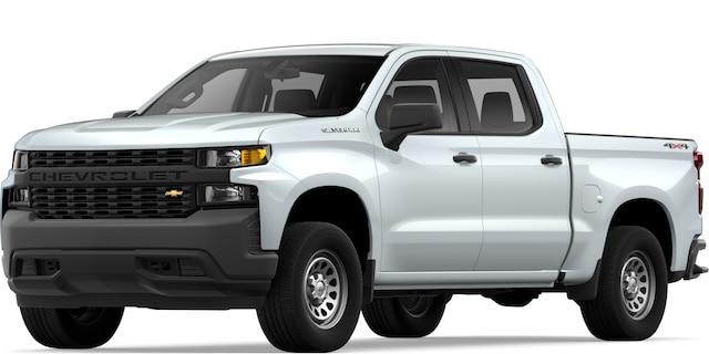 Camioneta de trabajo comercial Silverado 2019: Vista frontal
