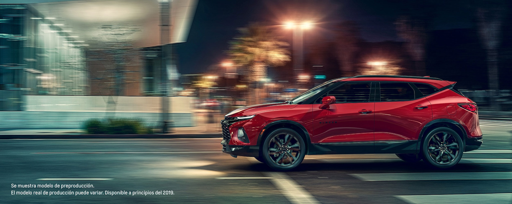 Chevy Blazer 2019 totalmente nueva: SUV deportiva