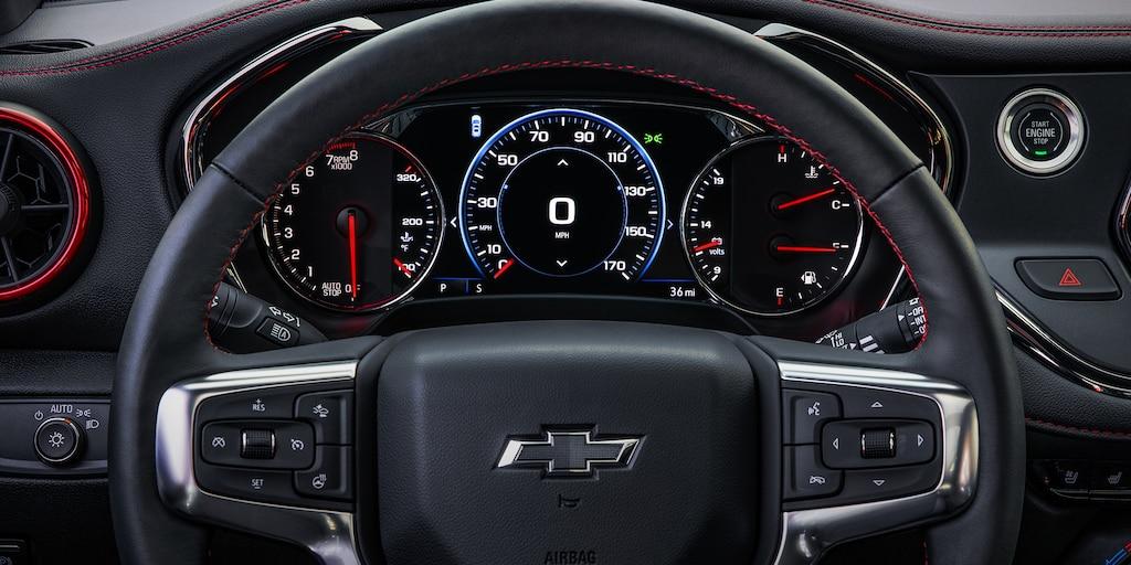Volante de la SUV deportiva Chevrolet Blazer 2019