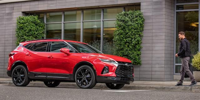 SUV deportiva Blazer 2019 totalmente nueva: Perfil lateral delantero RS