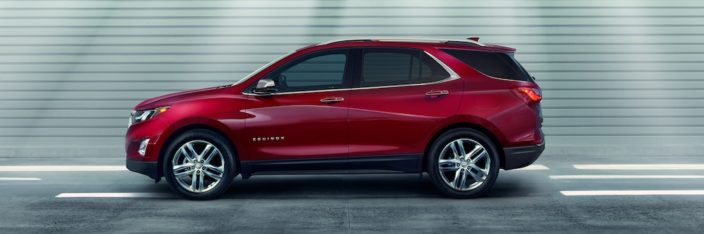 Seguridad de la SUV compacta Equinox 2019: Perfil lateral