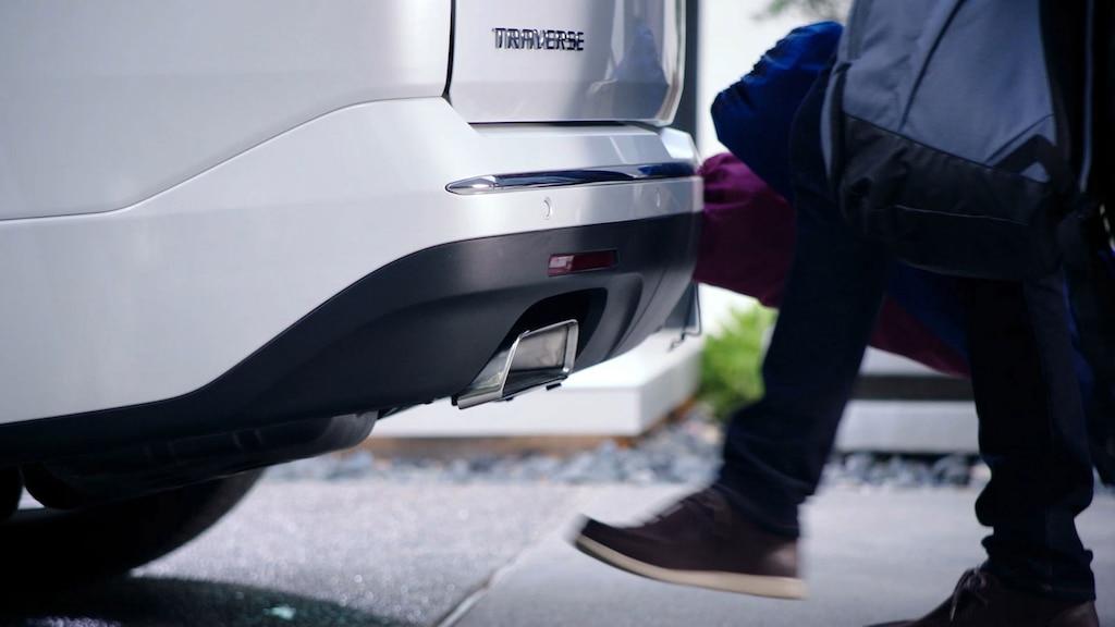 SUV mediana Traverse 2019: Compuerta trasera con sensor de gestos manos libres