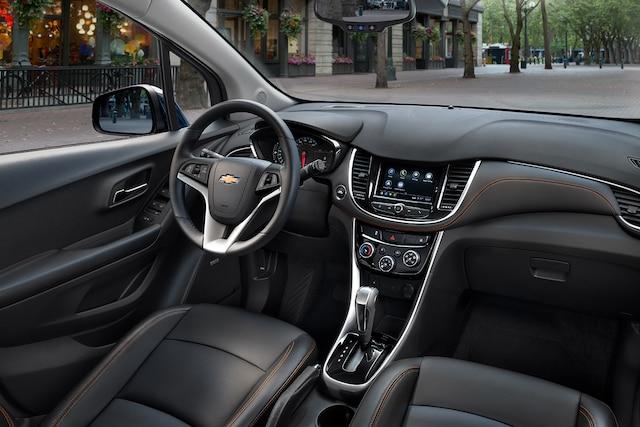 Diseño de la SUV Trax 2019 compacta: cabina