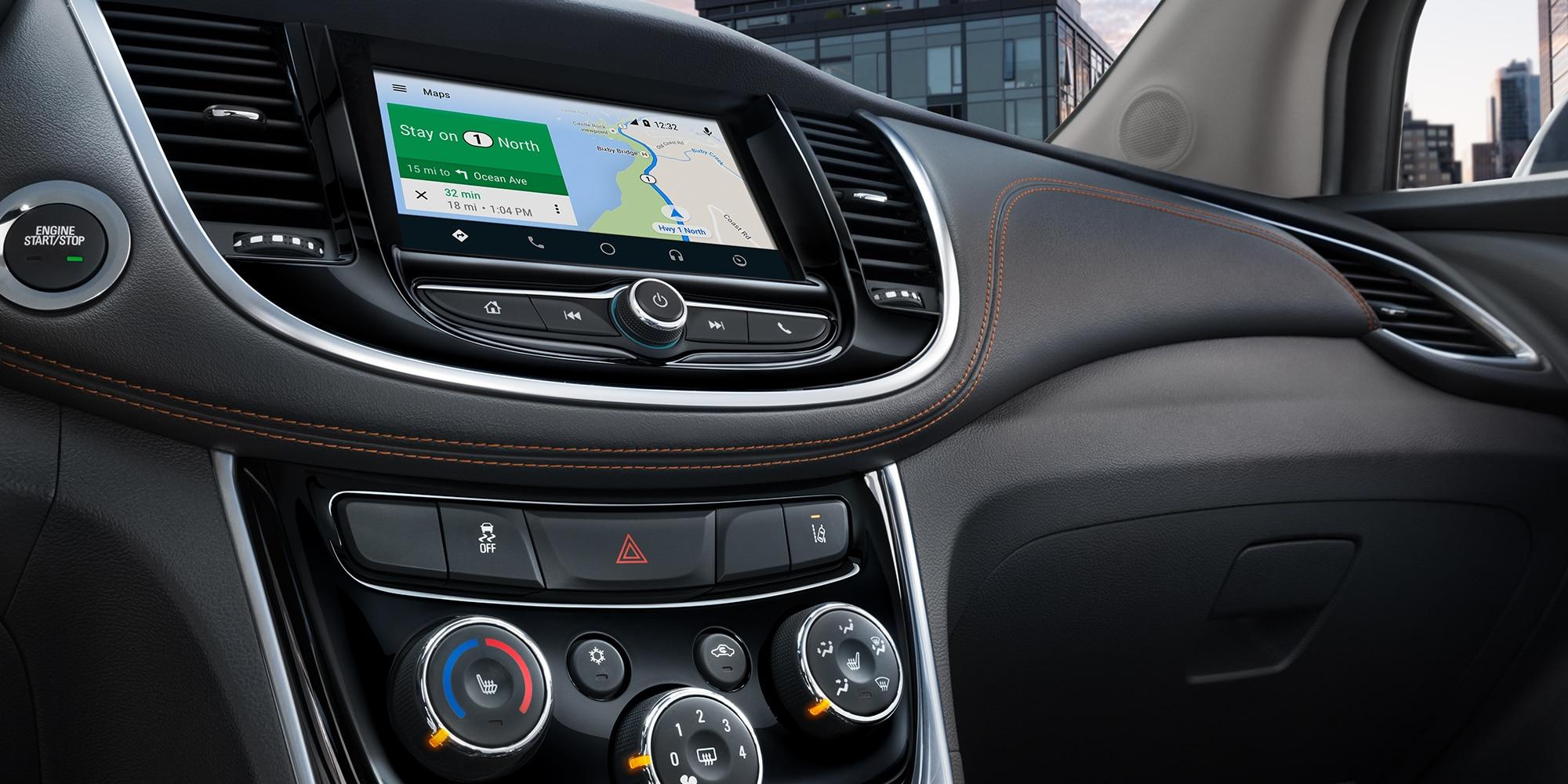 Tecnología de la SUV Trax 2019 compacta: pantalla táctil a color