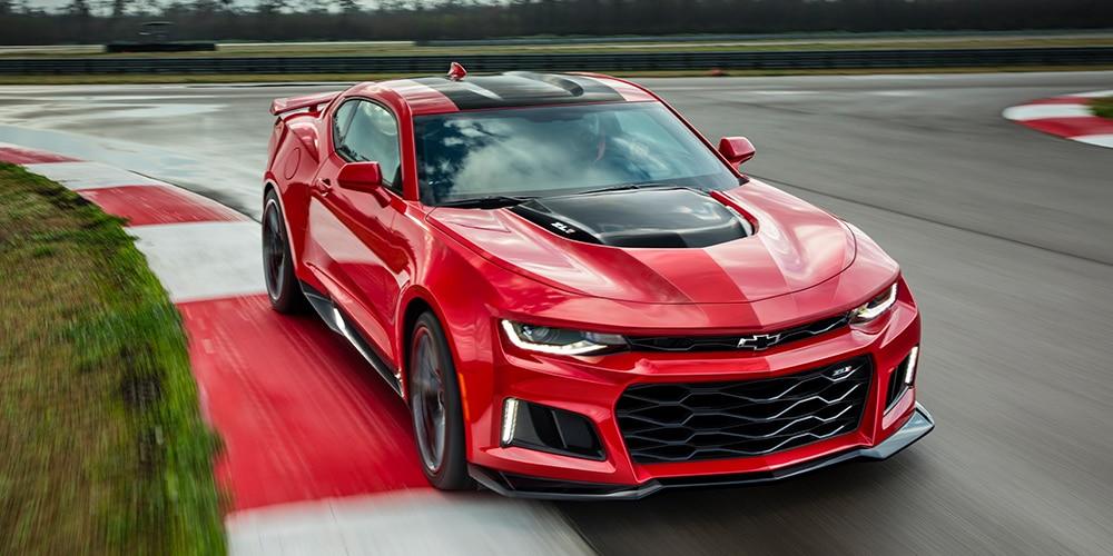 Camaro ZL1 2019: pista