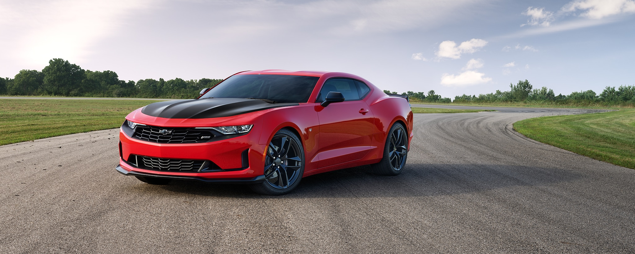 Camaro 2019: 1LE conductor vista frontal
