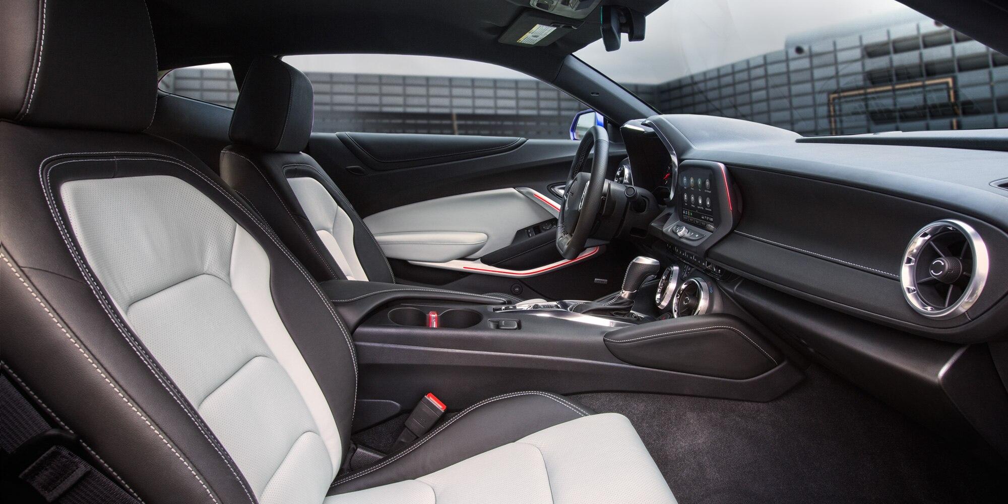 Camaro 2019: Interior del 3LT Coupe