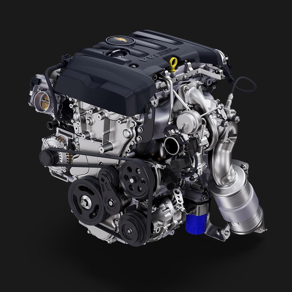 Camaro 2019: Motor turbo de 2.0 L