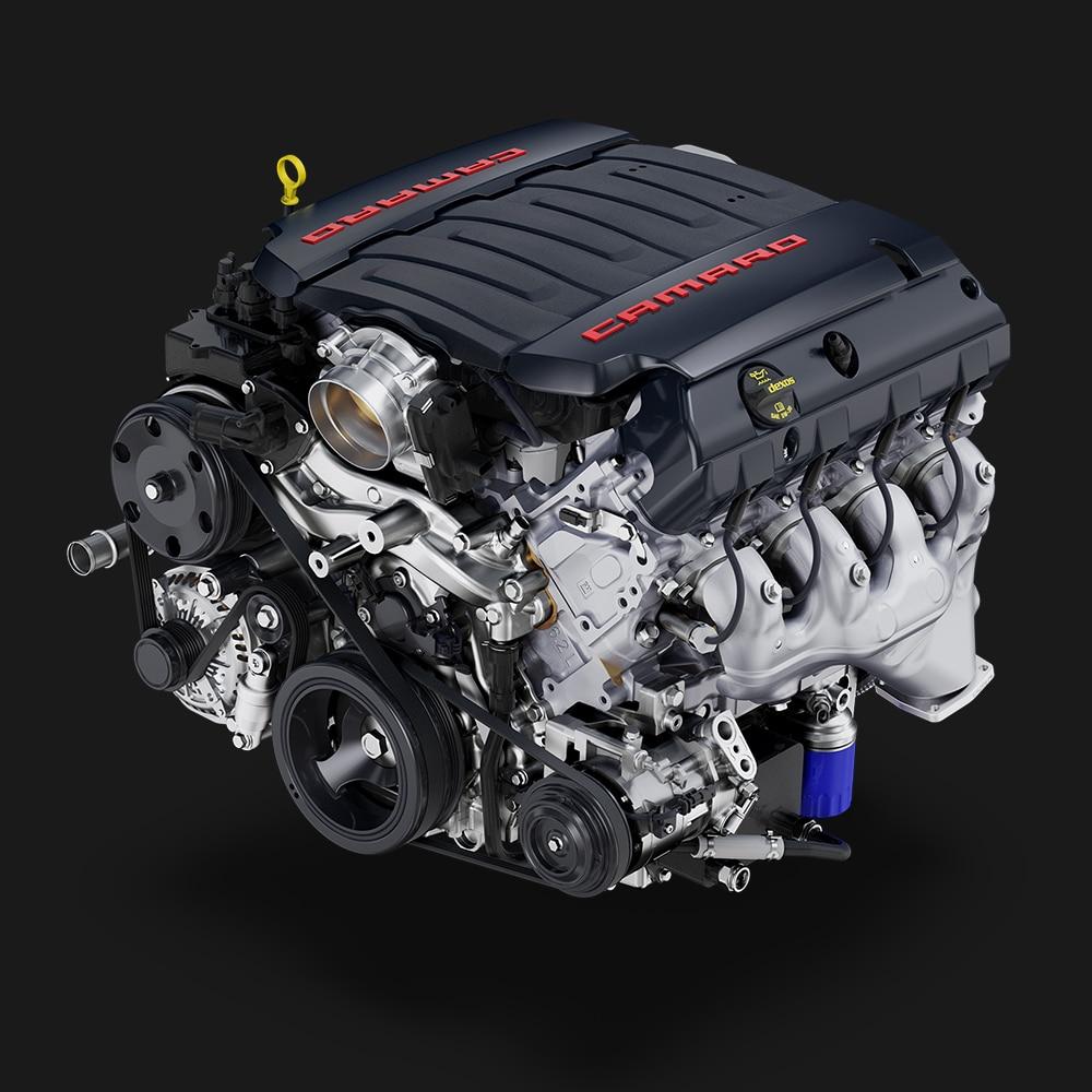Camaro 2019: LT1 con motor V8 de 602 L