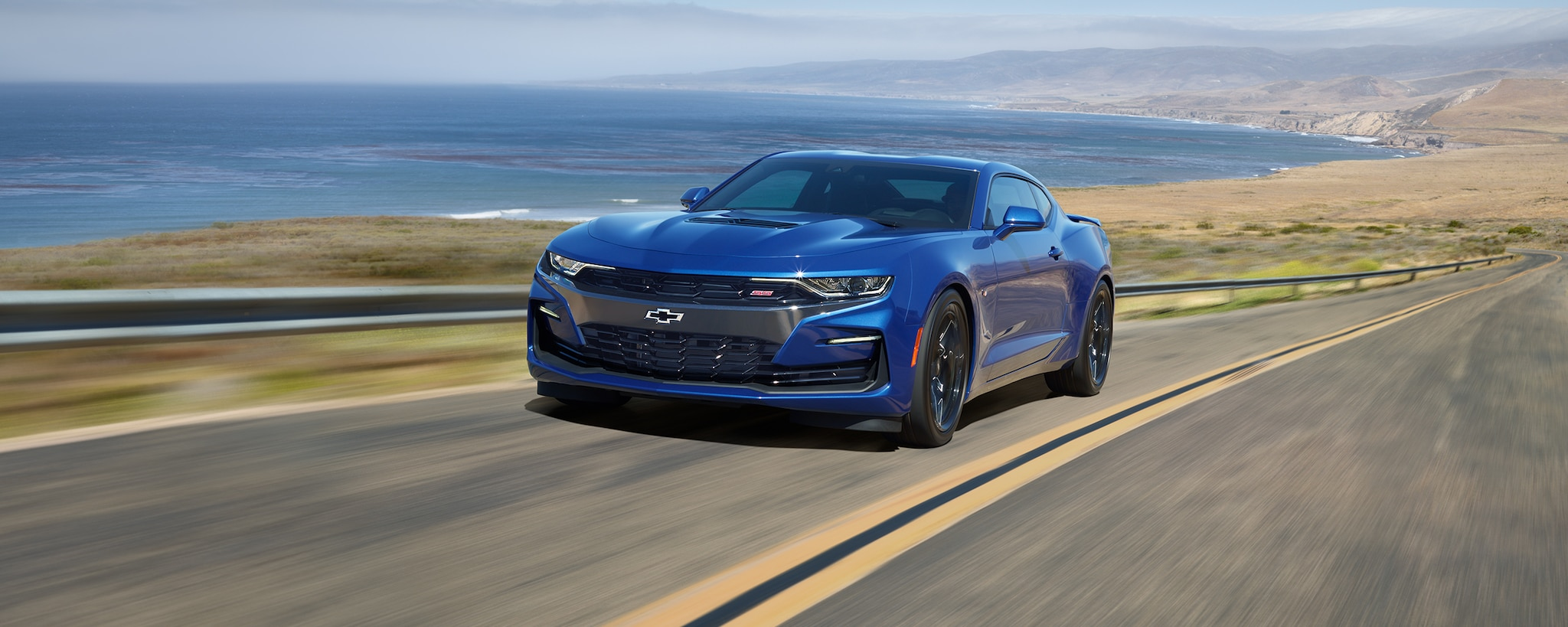 Camaro 2019: vista frontal