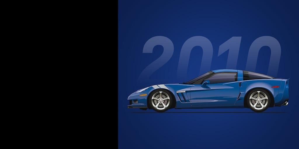 Auto deportivo Corvette Grand Sport 2010