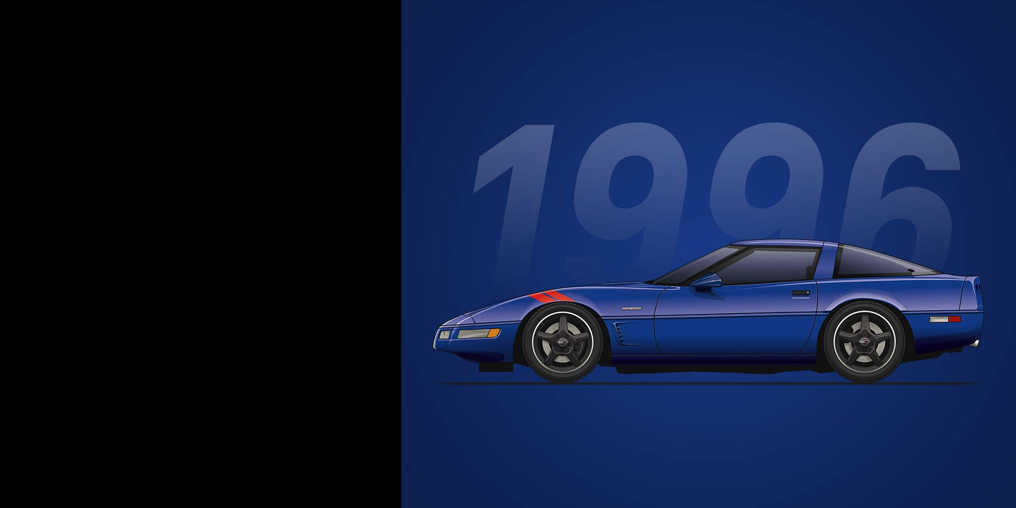 Auto deportivo Corvette Grand Sport 1996