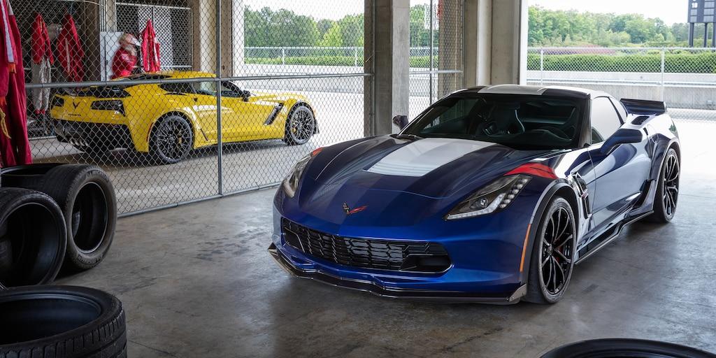 Seguridad del auto deportivo Corvette Grand Sport 2019