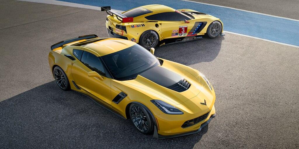 Desempeño del superauto Corvette Z06 2019: arriba