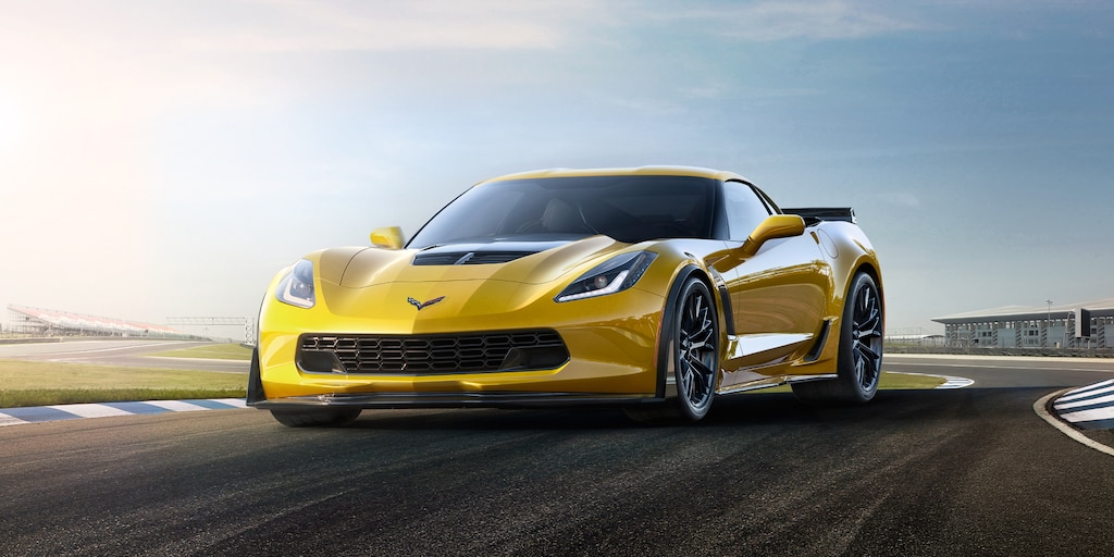 Diseño del superauto Corvette Z06 2019: delantero