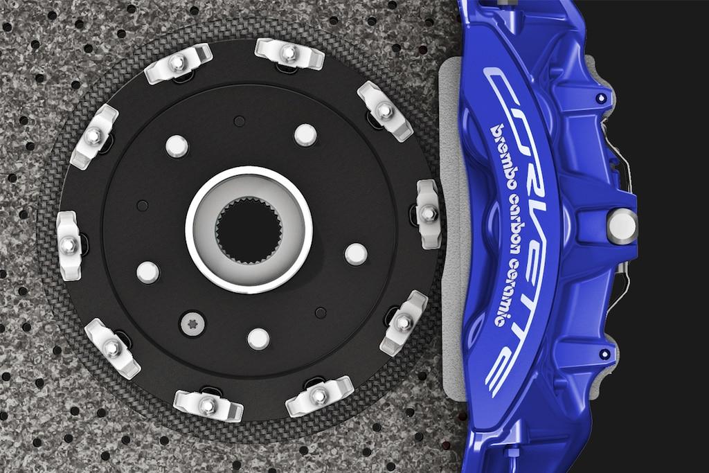 Superauto Corvette ZR1 2019: Frenos cerámicos de carbono Brembo