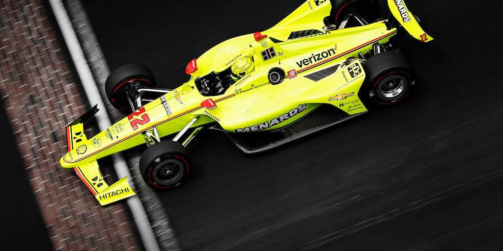 Victoria de Simon Pagenaud Indianapolis 500
