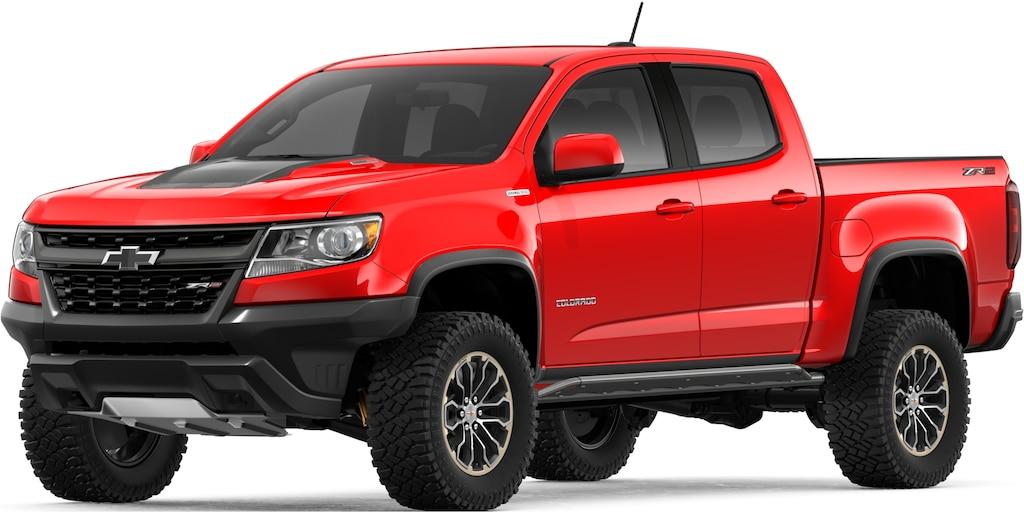 Camioneta todo terreno Colorado ZR2 2019: vista frontal