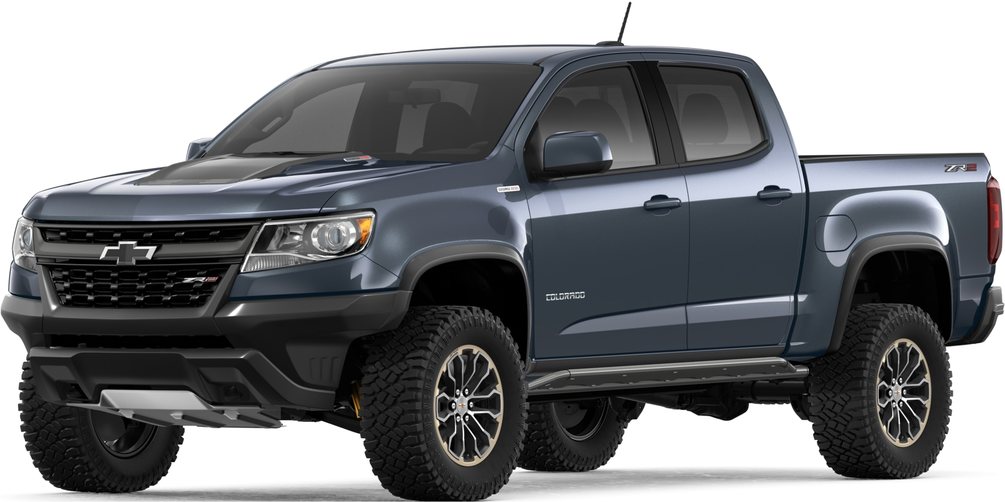 Camioneta todo terreno Colorado ZR2 2019: vista frontal