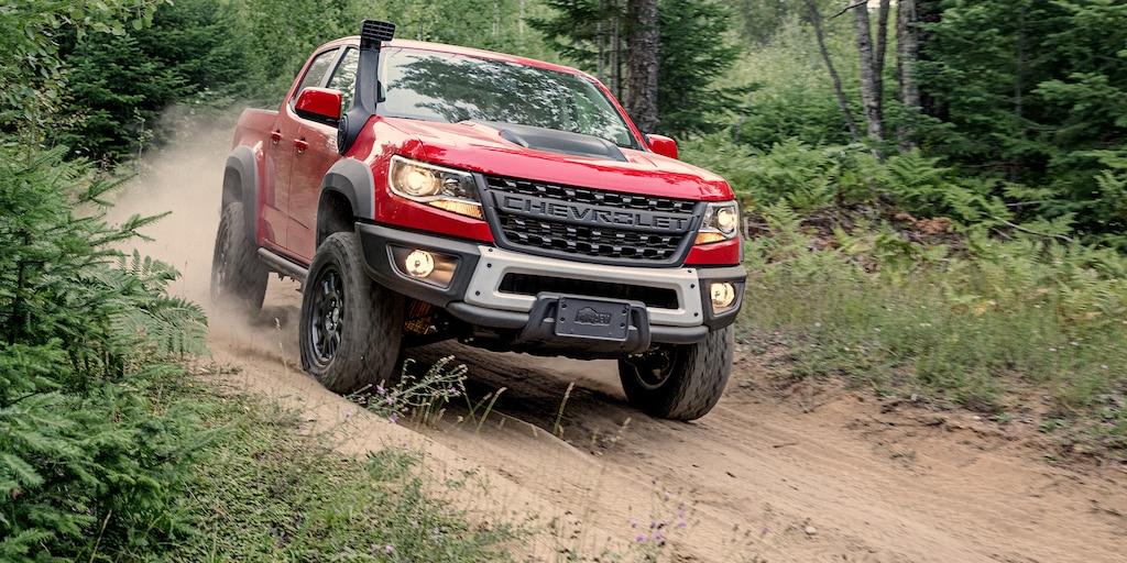 Camioneta todo terreno Colorado ZR2 Bison 2019