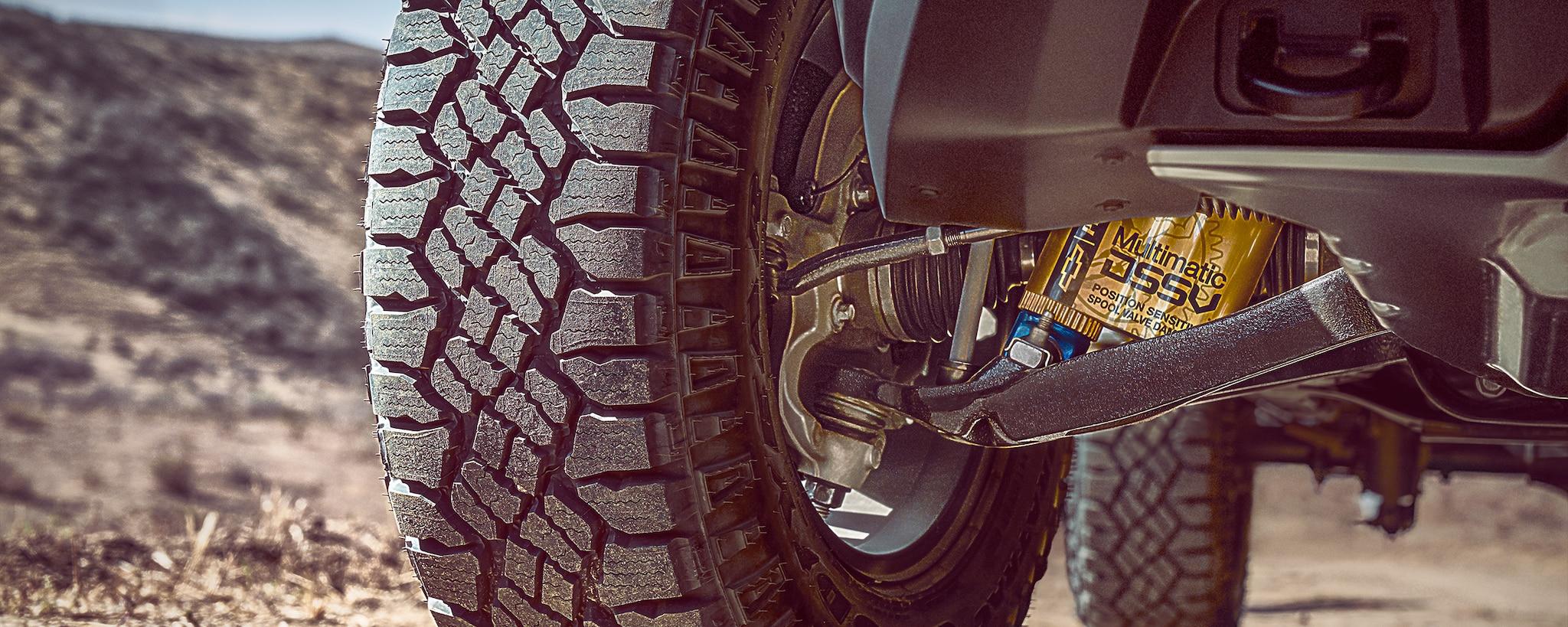 Desempeño de la camioneta todo terreno Colorado ZR2 2019: Los primeros amortiguadores multimatic del segmento