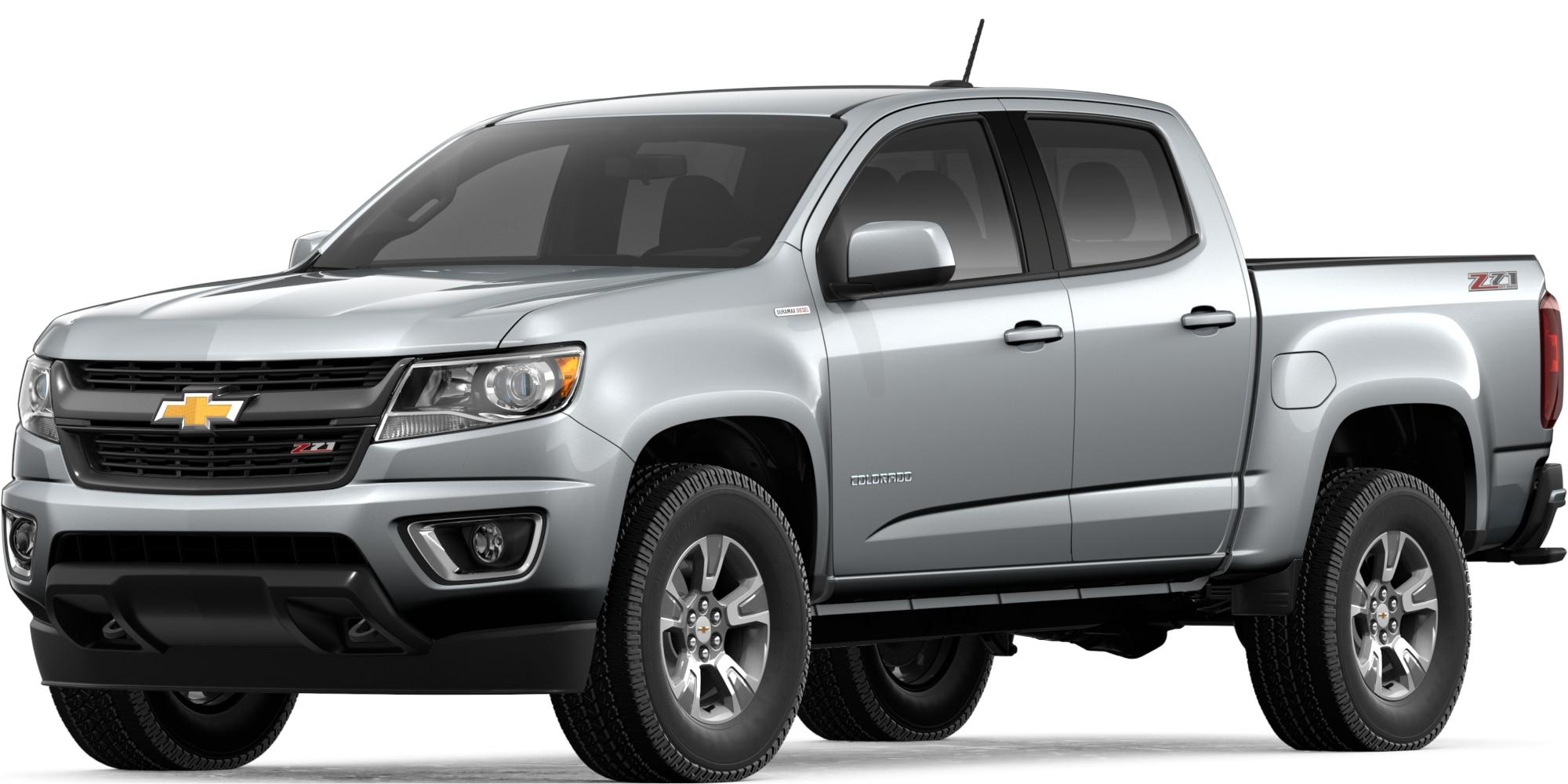 Colorado 2019: Camioneta mediana - Camioneta diésel