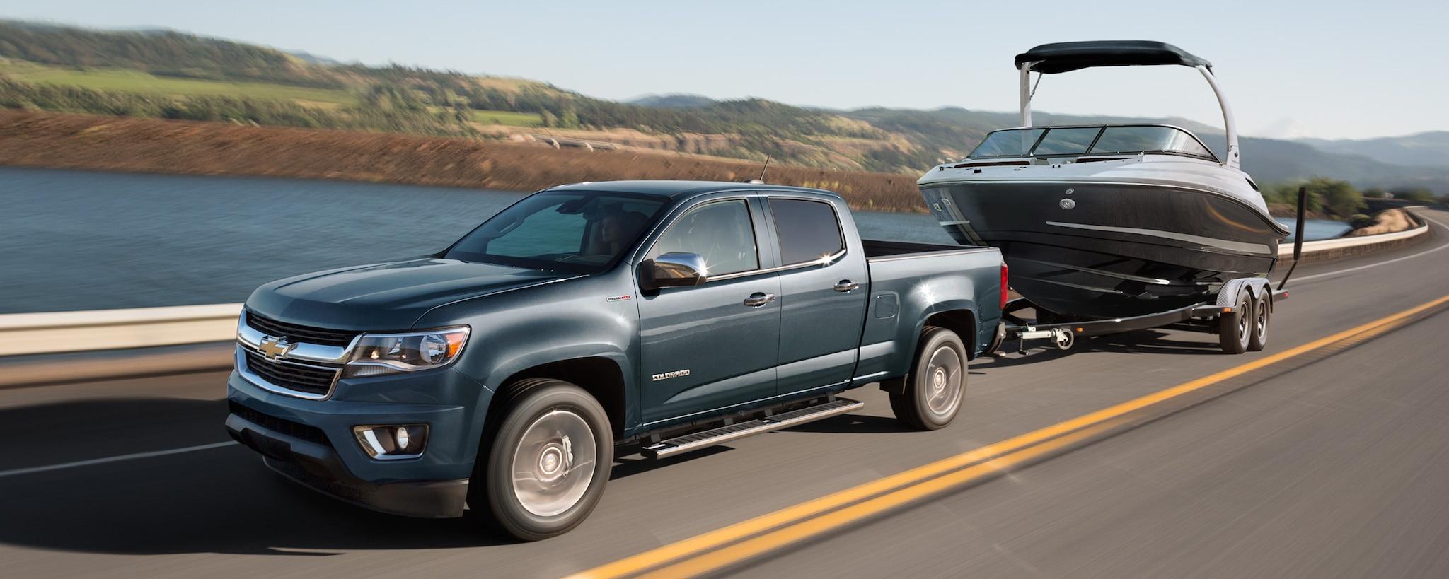 Desempeño de la camioneta mediana Colorado 2019: remolque
