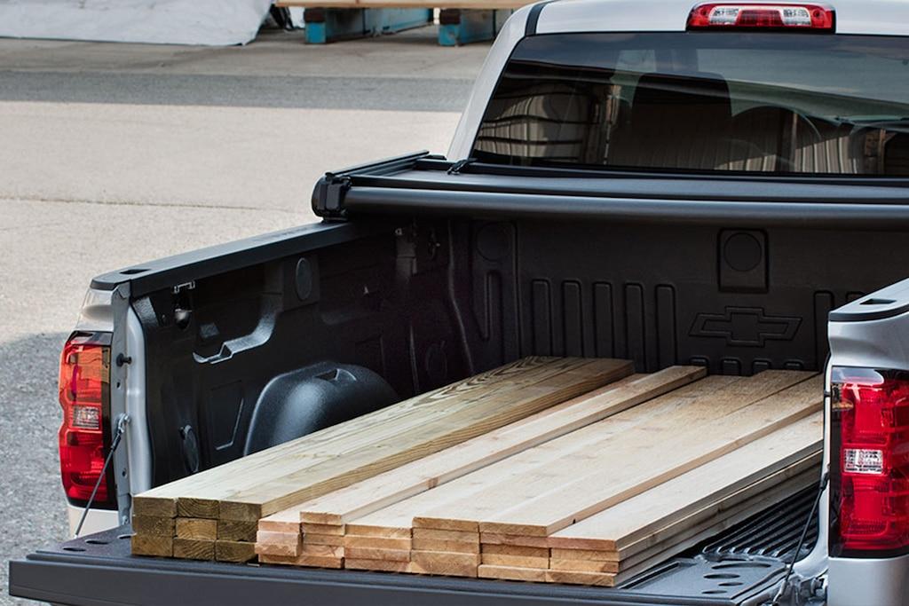 Desempeño de la camioneta pickup Silverado 1500 2018: Caja de camioneta