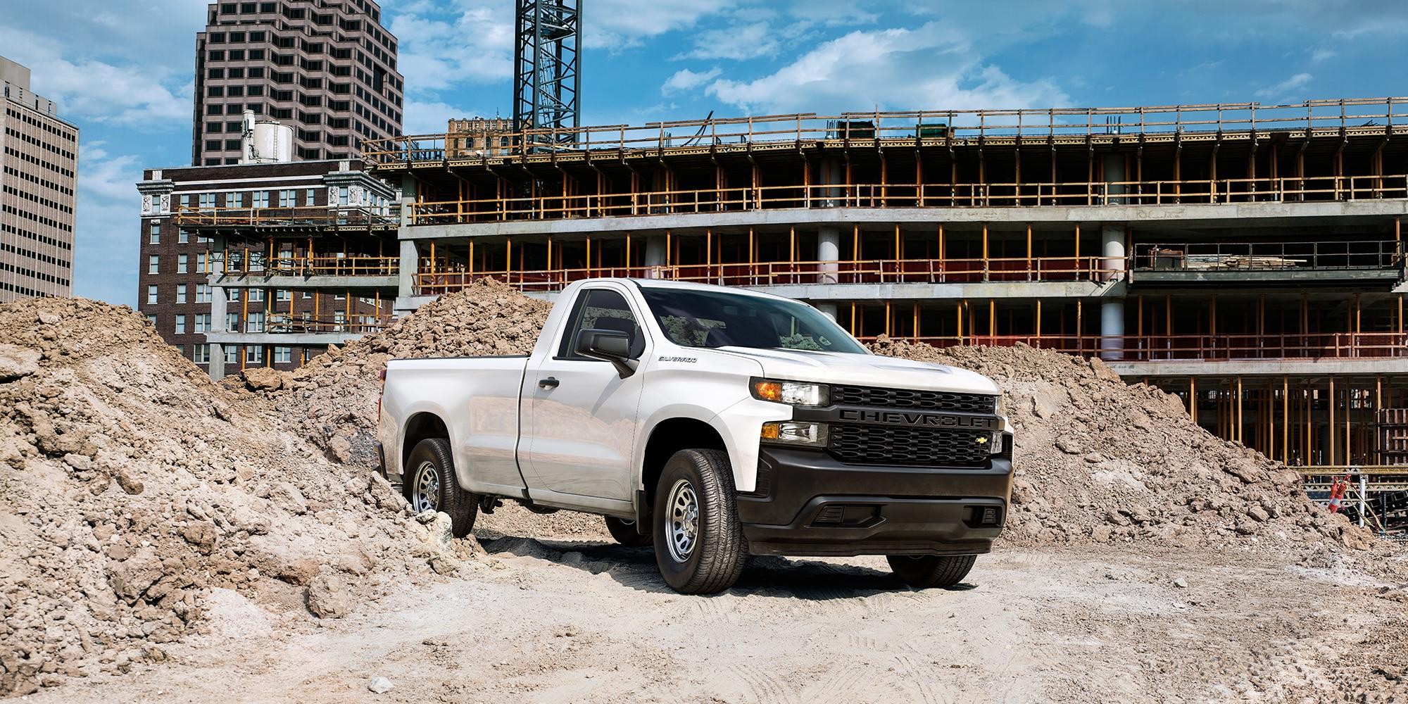 Camioneta de trabajo Silverado 2019