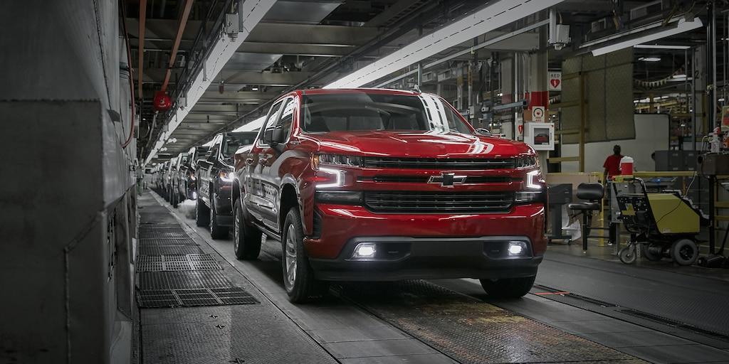 Planta de ensamble Fort Wayne de la camioneta Silverado 1500 2019, 1