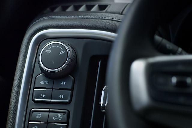 Camioneta pickup Silverado 1500 2019: Selector de modo de conducción
